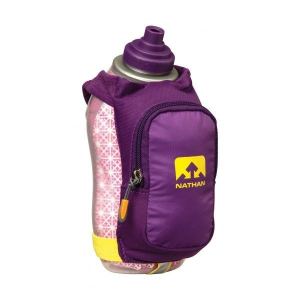 Nathan Speeddraw Plus Insulated Drink Bottle Purple